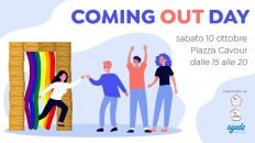 Coming Out Day, domani in Piazza Cavour